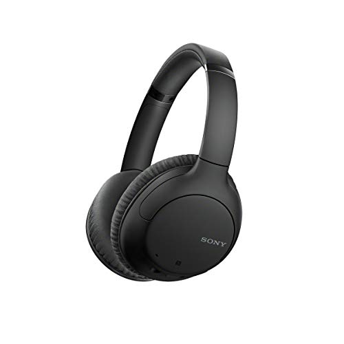 Sony Noise Cancelling Headphones WHCH710N: Wireless Bluetooth Over the Ear Headset with Mic for Phone-Call,...