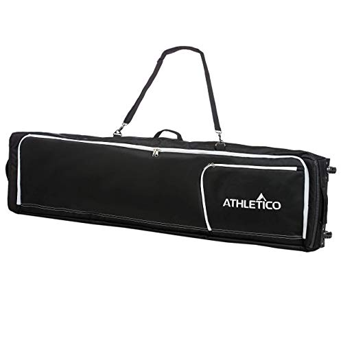 Athletico Conquest Padded Snowboard Bag with Wheels - Travel Bag for Single Snowboard and Snowboard Boots...