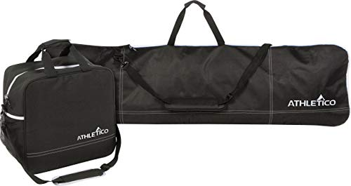 Athletico Two-Piece Snowboard and Boot Bag Combo   Store & Transport Snowboard Up to 165 cm and Boots Up to...