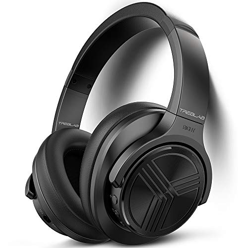 TREBLAB Z2 - Bluetooth Headphones Over Ear   35H Battery Life   Active Noise Cancelling Headphones with...