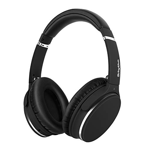 Srhythm Active Noise Cancelling Stereo Headphones Bluetooth 5.0,NC25 (Upgrated 2020) ANC Headset Over-Ear with...