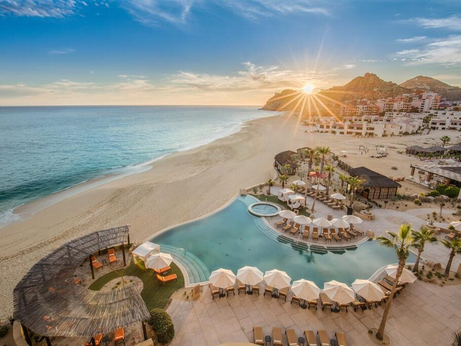 The Grand Solmar Land's End Resort and Spa is perfect for honeymooners