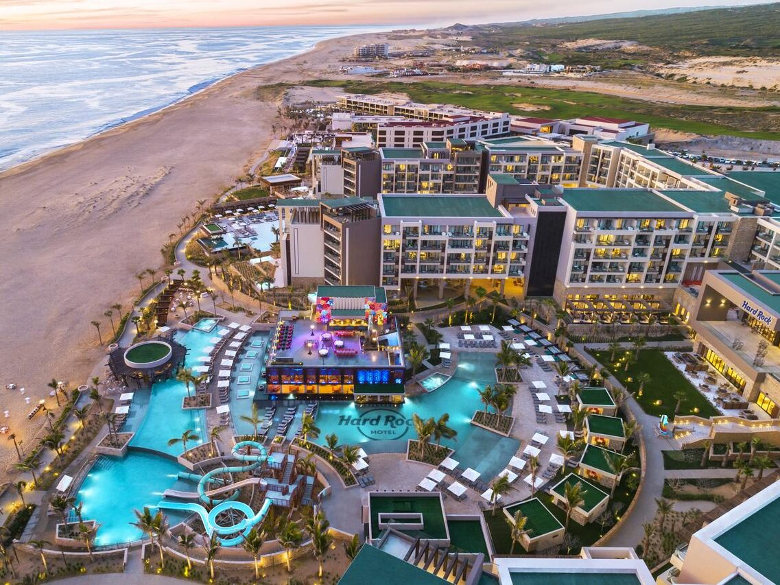 Families and young couples will love the stay in Hard Rock Hotel Los Cabos