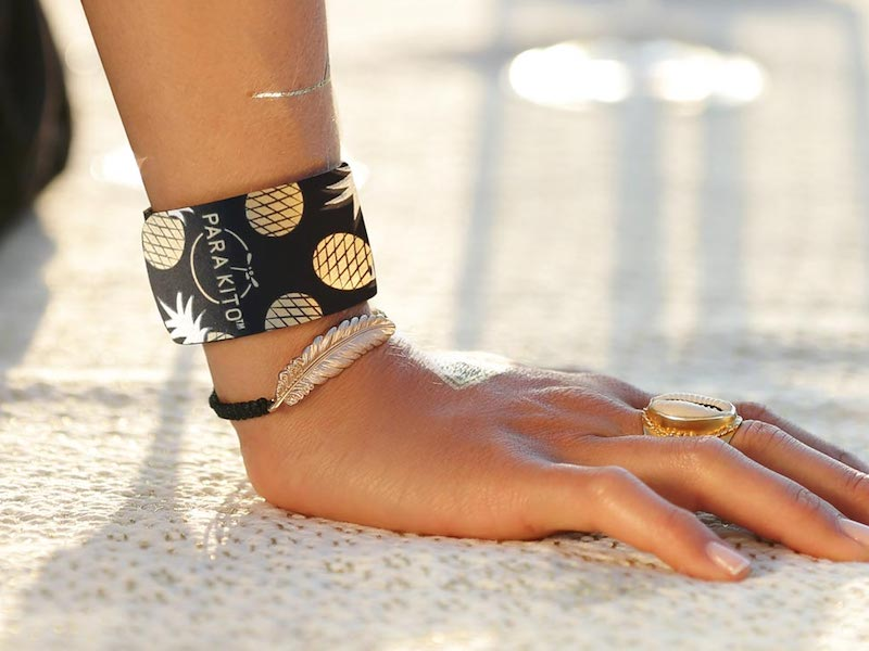 mosquito repellent bracelets are a must for what to pack for santorini