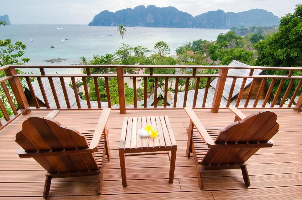 Stunning views from the Grand Deluxe Villa