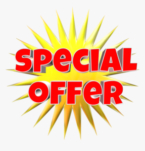 Graphic saying Special Offer!