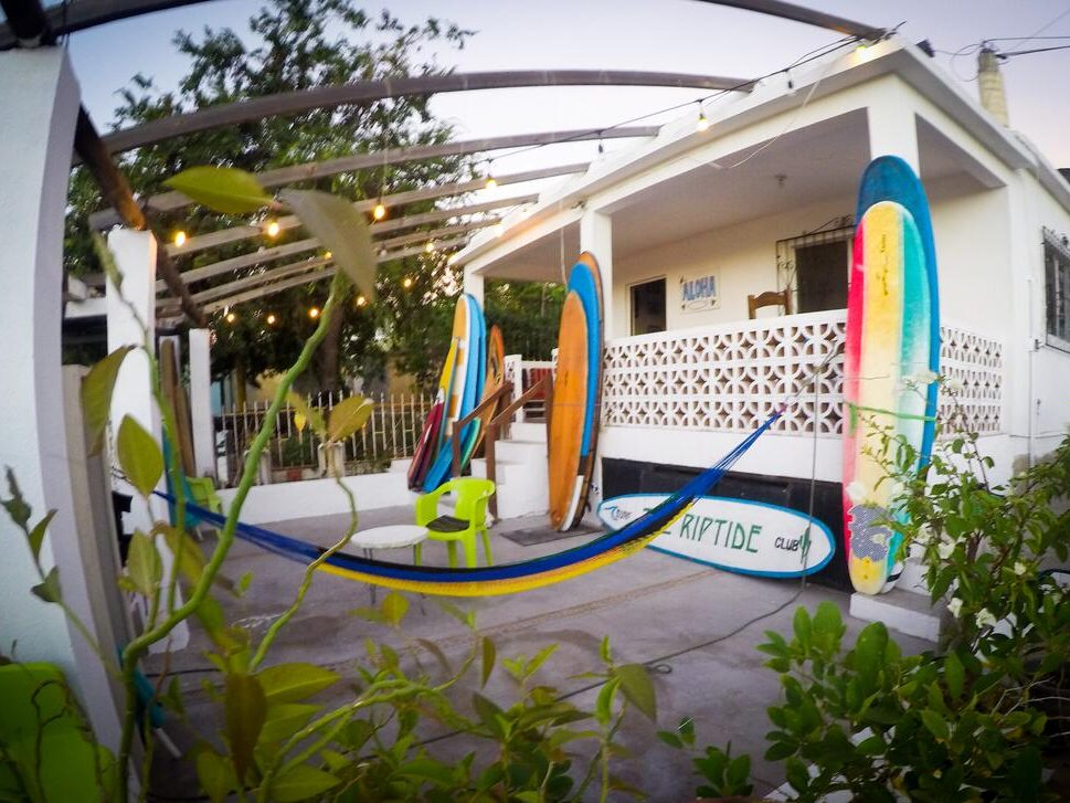 "Best Surf Hostel Cabo ""The Riptide"" for meeting people"