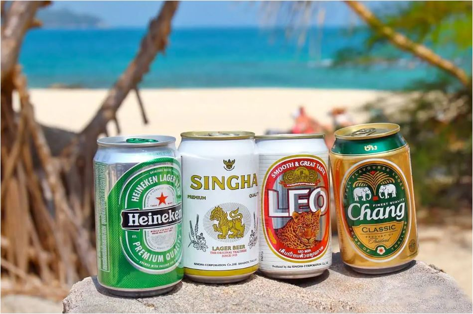 Beers available in Phuket