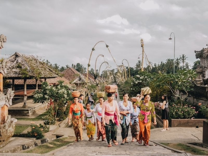 The Balinese people