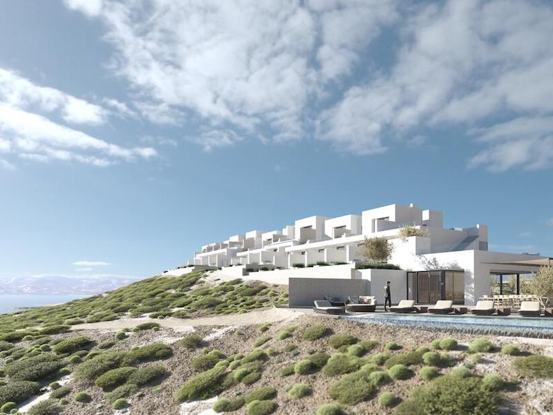 One of the newest places to stay near Sarakiniko Beach