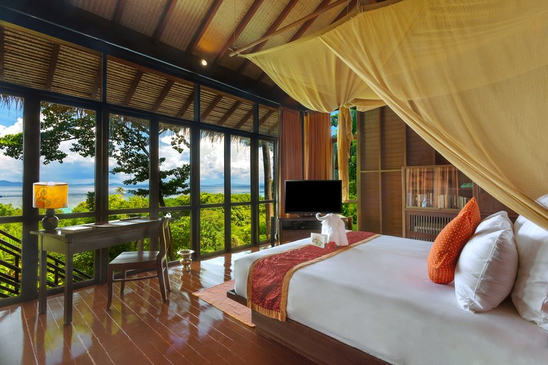 Zeavola: View from the Pool Villa Suite