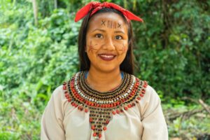Member of an Amazon tribe