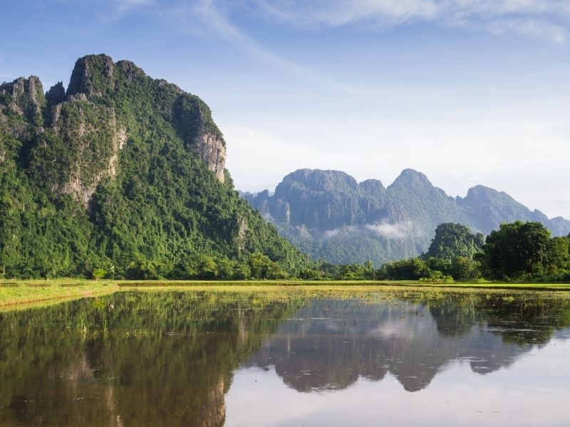 mountains in Cambodia