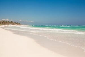 White sand beach Mexico best places to stay Playa Del Carmen