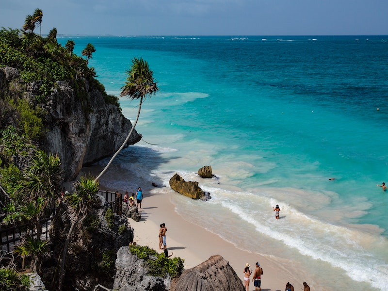 Tulum, Mexico free beach