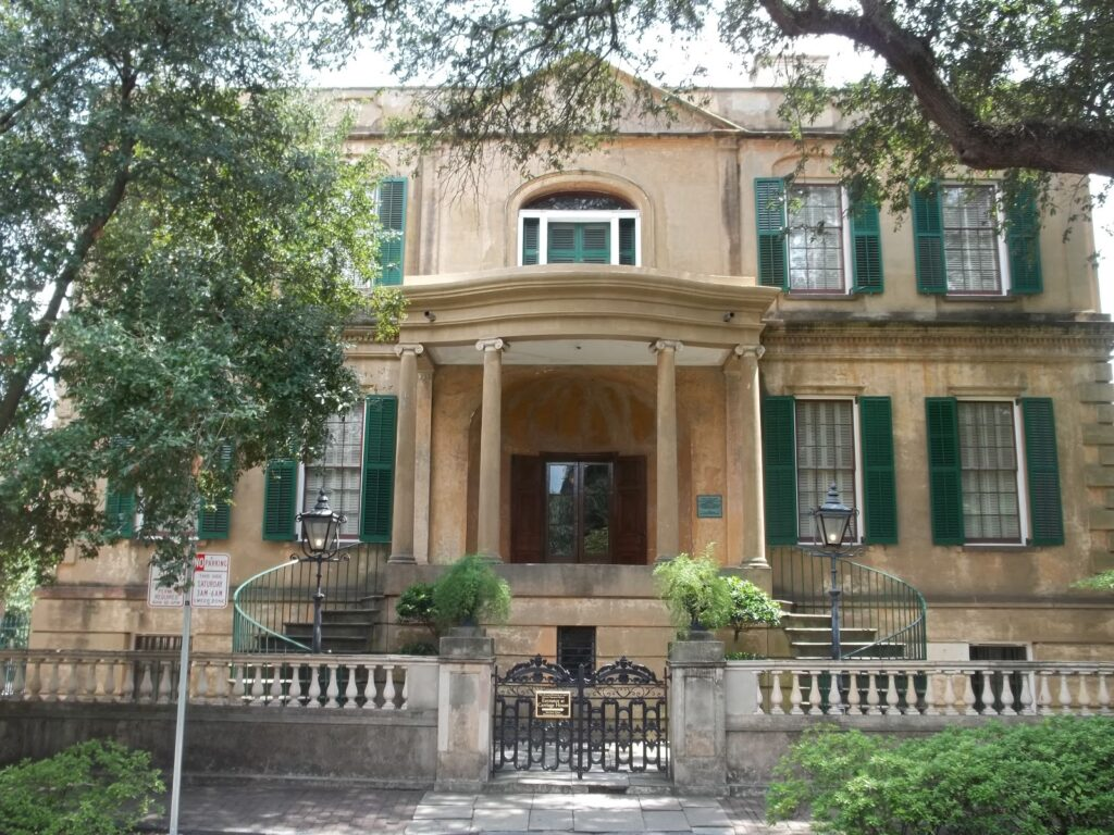 Owens Thomas House and slave quarters played a huge role in the history of Savannah ga all the way back in the 19th century.