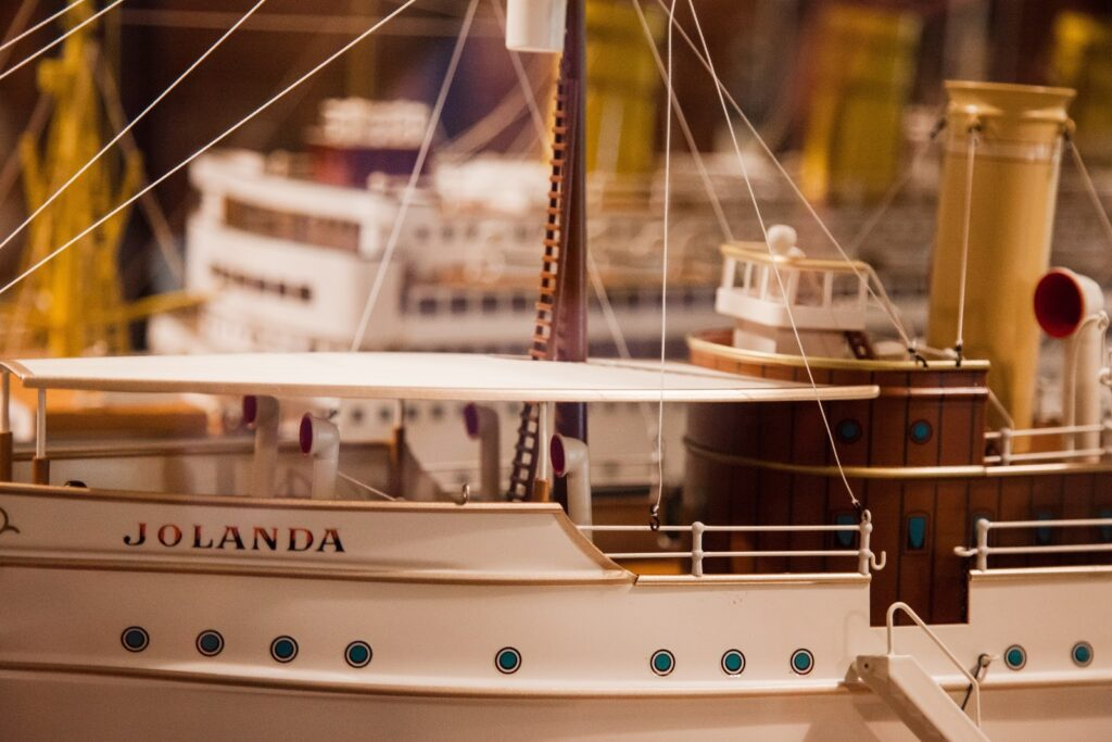 During your time in Savannah, you must visit the Ships of The Sea Maritime Museum